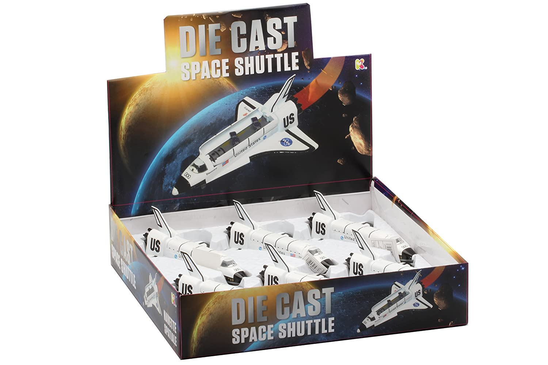 Keycraft DC47 Large Diecast Space Shuttle 20cm 20 cm