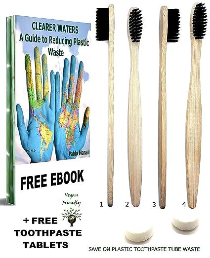 Cepillos de dientes de bambú Eco: Amazon.es: Salud y cuidado ...