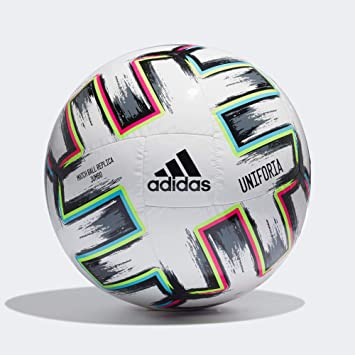 adidas UNIFORIA Jumbo Balón Fútbol Hombre, Blanco (Blanco/Negro ...