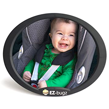 Amazon.com : EZ-Bugz Baby Car Mirror for Rear Facing Child Seats ...