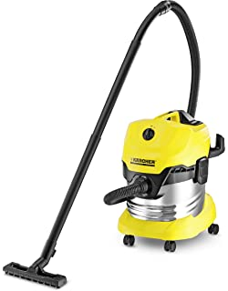 Kärcher - Aspirador en seco y húmedo WD 6 Premium 30 L, 1.300 W, con toma de corriente, función soplado (1.348-271.0): Amazon.es: Hogar