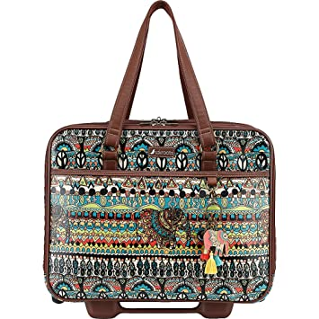 ae6efba946ab Amazon.com  Sakroots Women s Artist Circle Mobile Tote