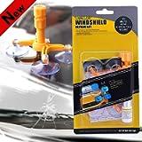 FILBA Windshield Repair Kit, Car Windshield Repair Kit with Pressure Syringes for Fix Windshield Chips & Cracks & Bulls…