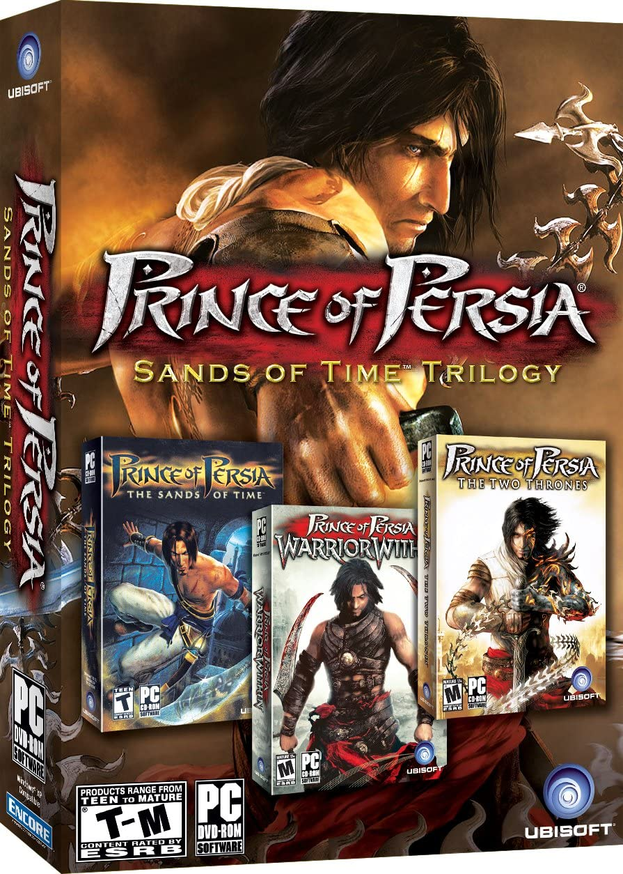 Amazon Com Prince Of Persia Sands Of Time Trilogy Old Version