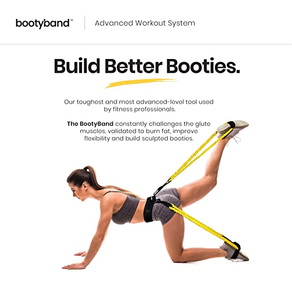 Amazon Com The Booty Band Set Tones And Sculpts Butt And Abs