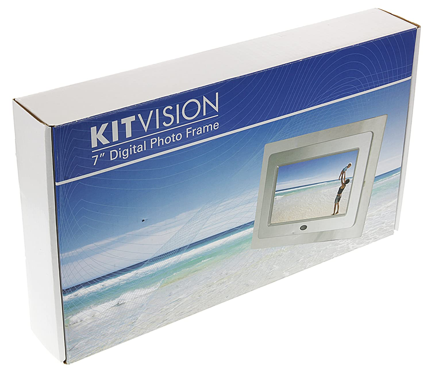 KitVision 7 inch Digital Photo Frame with Built-In: Amazon.co.uk ...