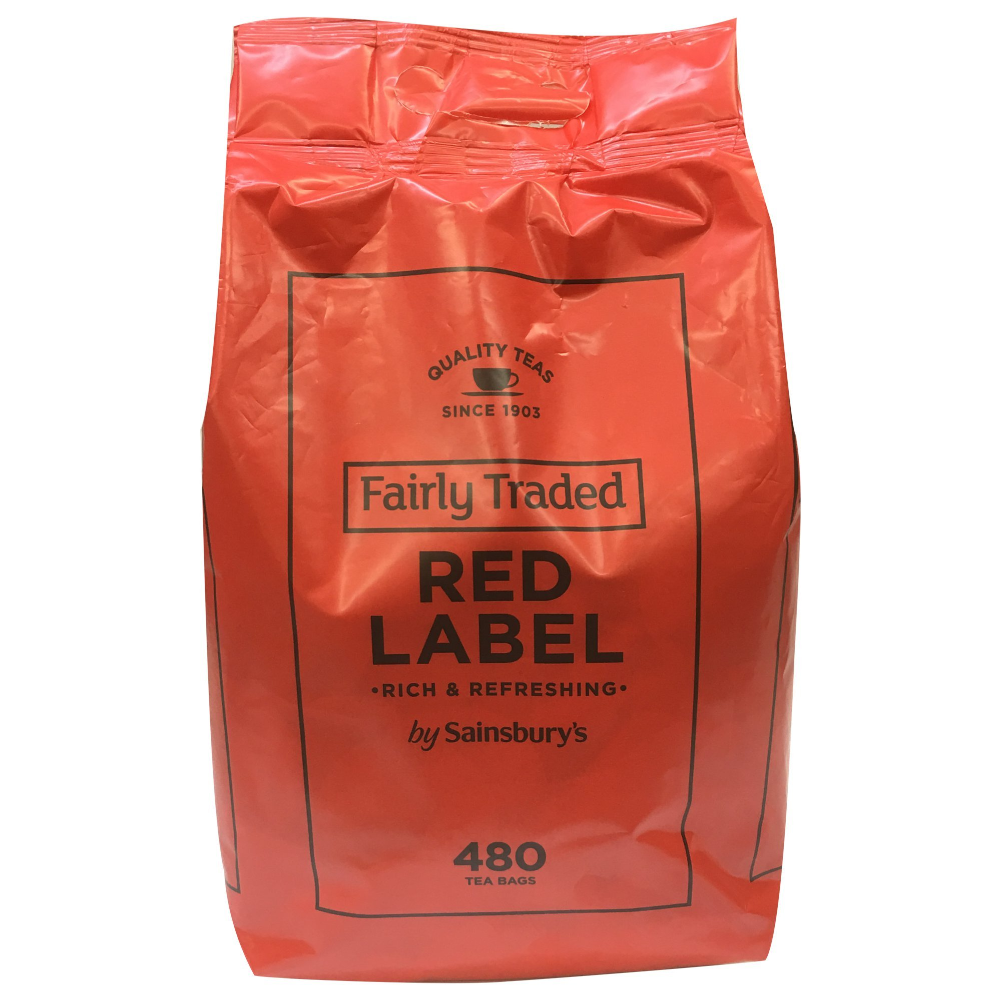 Amazon.com : Sainsbury's Decaf Red Label Black Tea 80
