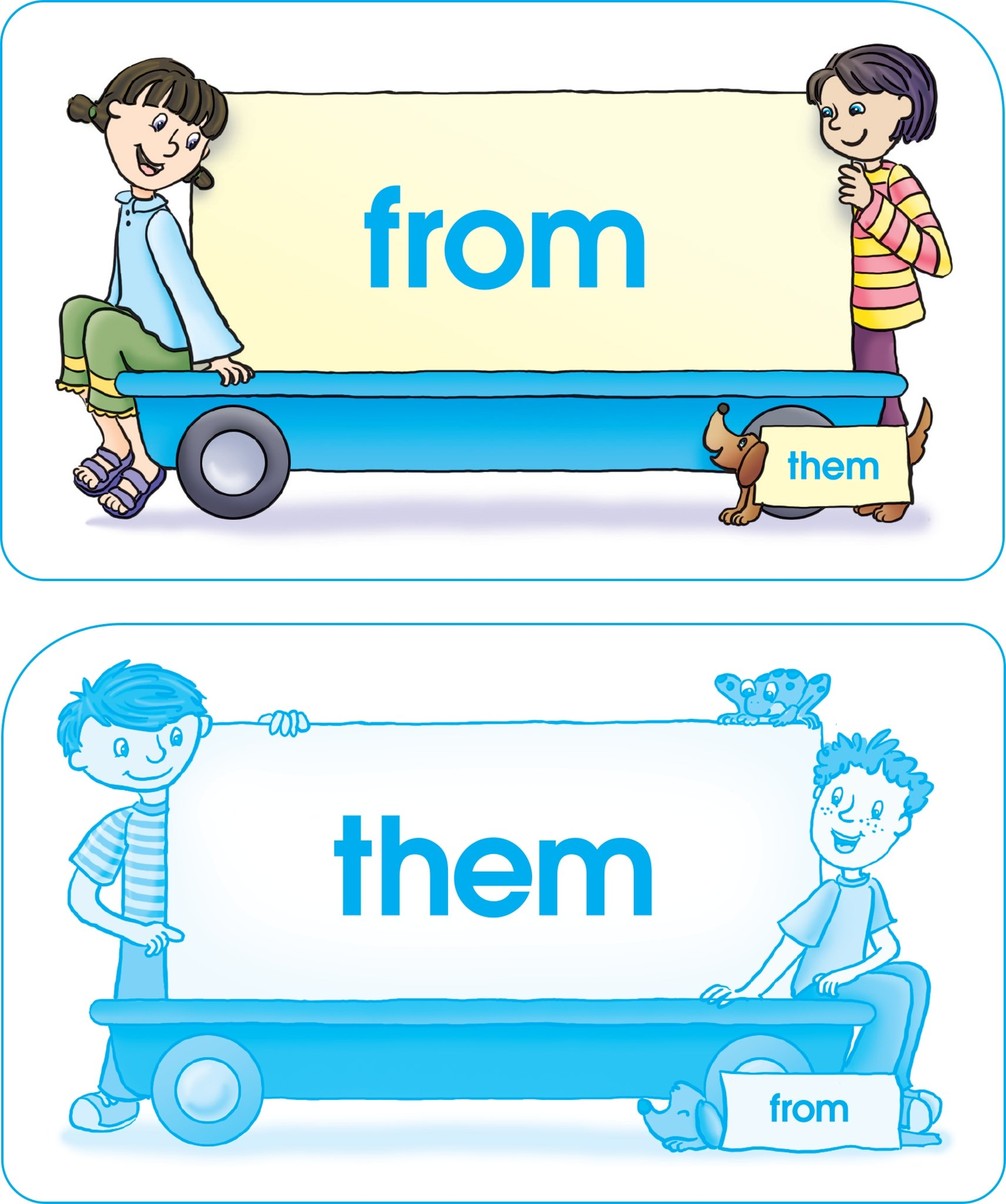 School Zone - Sight Words Flash Cards - Ages 5 and Up, Early Reading ...