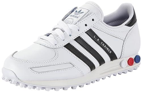 adidas LA Trainer Sneaker White Black White V22815