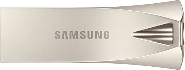 Samsung Bar Plus USB 3.1 Flash Drive, Plateado, 32 GB