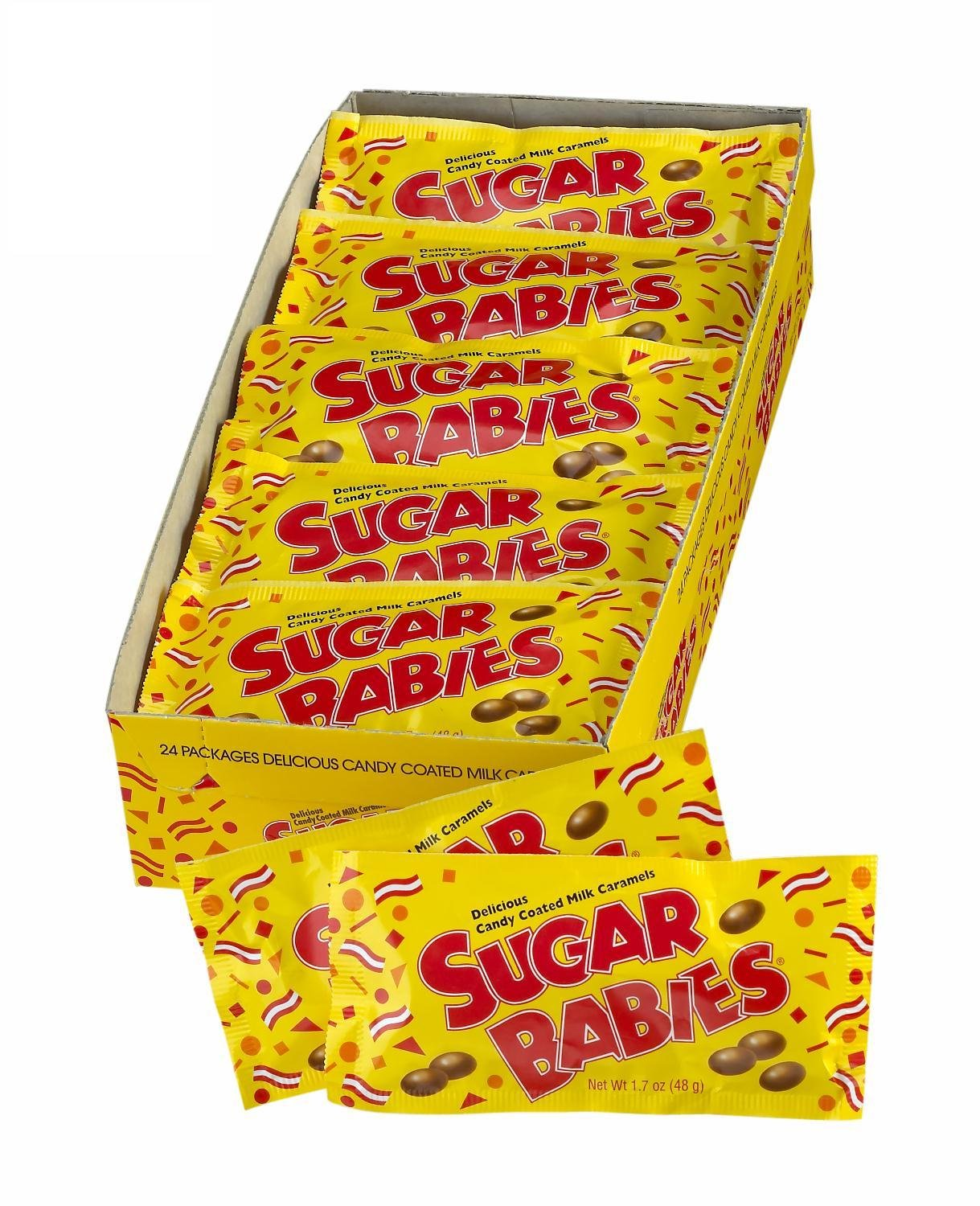 Sugar Babies, 1.7-Ounce Packages (Pack of 24) by Sugar Babies