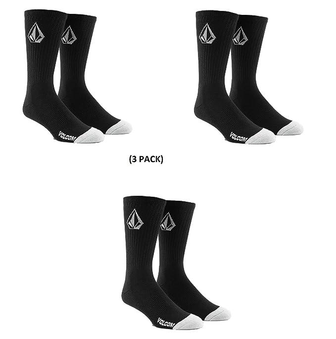 Volcom Mens Full Stone Socks Black 3 ...