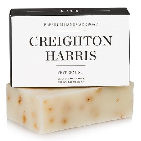 Review Peppermint Men's Bar Soap