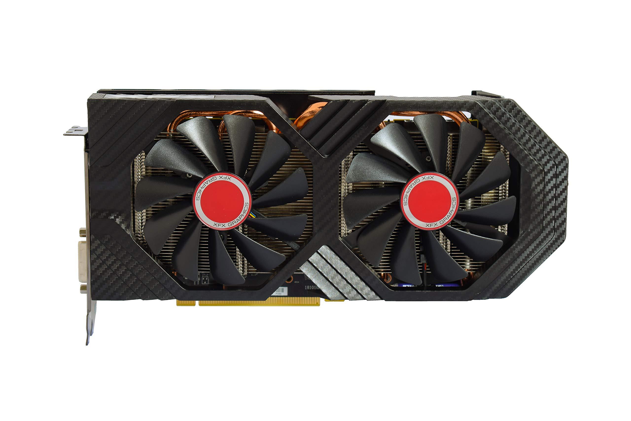 XFX RX-590P8DFD6 Radeon Rx 590 Fatboy 8GB OC+ 1580MHz DDR5 3xDP HDMI DVI Graphic Cards by XFX (Image #4)
