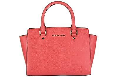 1699fd41d16a Michael Kors Handbag Selma 30S3GLMS2L Coral reef  Amazon.co.uk ...