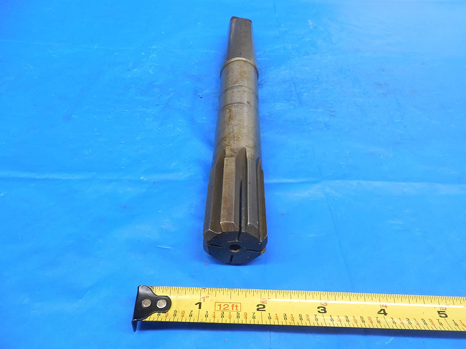 1 1//4 Dia Carbide Flute Expansion Reamer with Morse Taper # 4 Shank 1.2500