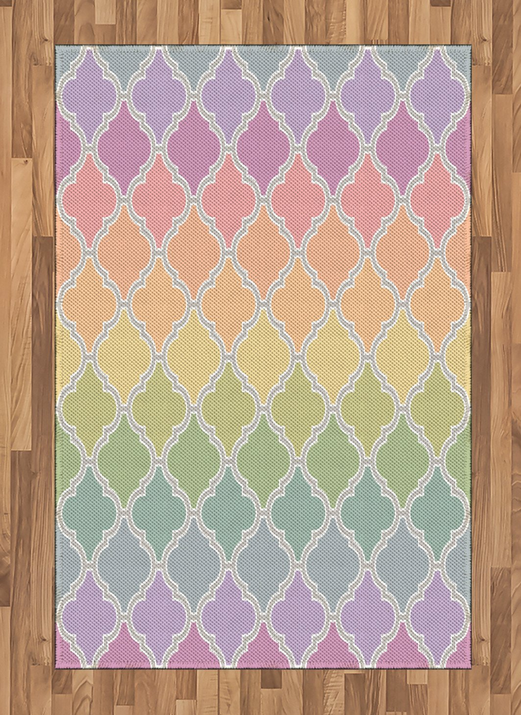 Lunarable Astrology Area Rug, Abstract Astral Spiritual Illlustration of The Universe Electricity in Infinity, Flat Woven Accent Rug for Living Room Bedroom Dining Room, 4 X 5.7 FT, Multicolor