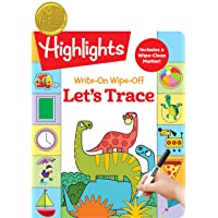 Write-On Wipe-Off Let's Trace (Highlights™ Write-On Wipe-Off Fun to Learn Activity...