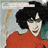 Janacek / String Quartets n°1 & 2, Smetana / String quartet n°1