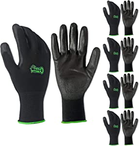 5 PACK Gorilla Grip Gloves - Small