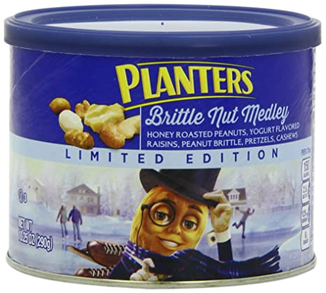 Amazon.com : Planters Winter ed Mix Canister, 18.75 Ounce ... on planters munch bar, planters holiday 3-pack, planters almond chocolate crunch, planters tailgate mix, planters pumpkin spice almonds, planters holiday mix, planters almonds seasonal winter, planters nuts gift pack, planters winter spiced nuts, planters pumpkin spiced almonds 22 5-ounce, planters spiced mix, planters nuts creme,