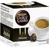 Nescafé Dolce Gusto Dallmayr Crema d'Oro, Kaffeekapseln, Feinste Crema und vollmundiges Aroma, Blitzschnelle Zubereitung, Mit intelligenter Kapseltechnologie, 1er Pack (16 Kapseln) 120g