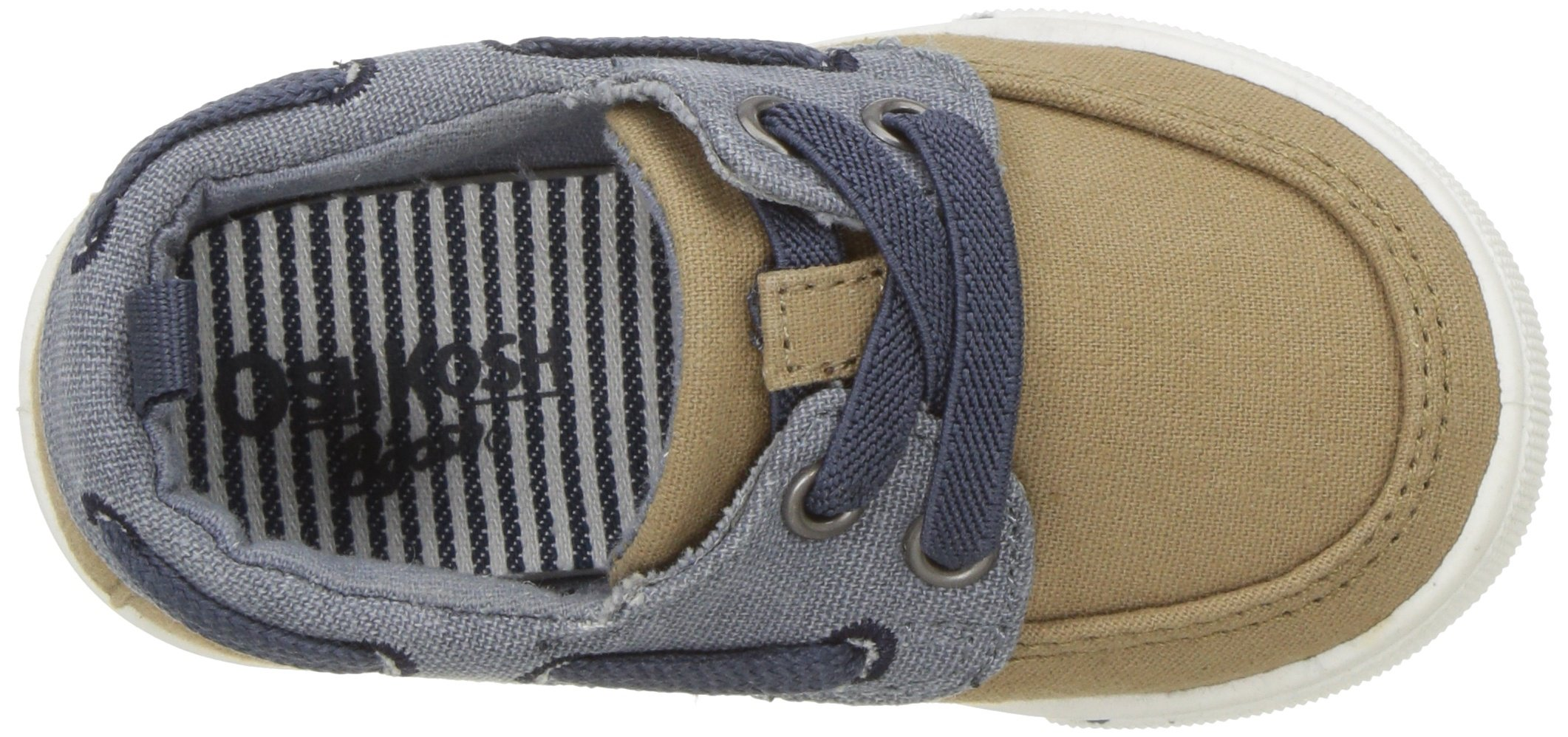 OshKosh B'Gosh Albie Boy's Boat Shoe, Khaki, 12 M US Little Kid by OshKosh B'Gosh (Image #8)