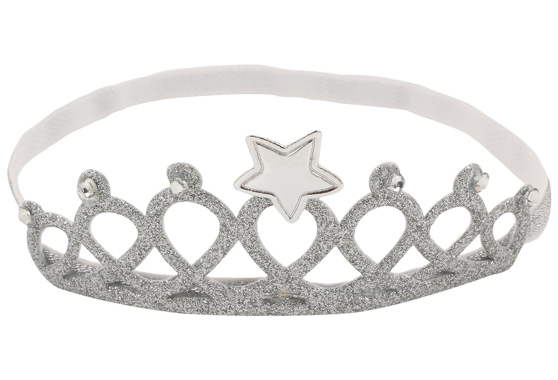 Baby girl/'s metal crown headband