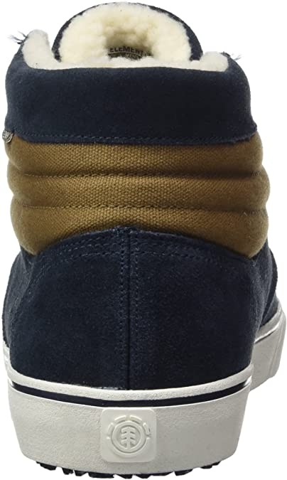 adidas Men's Topaz C3 Mid Hi Top Trainers, Blue (Blau Braun