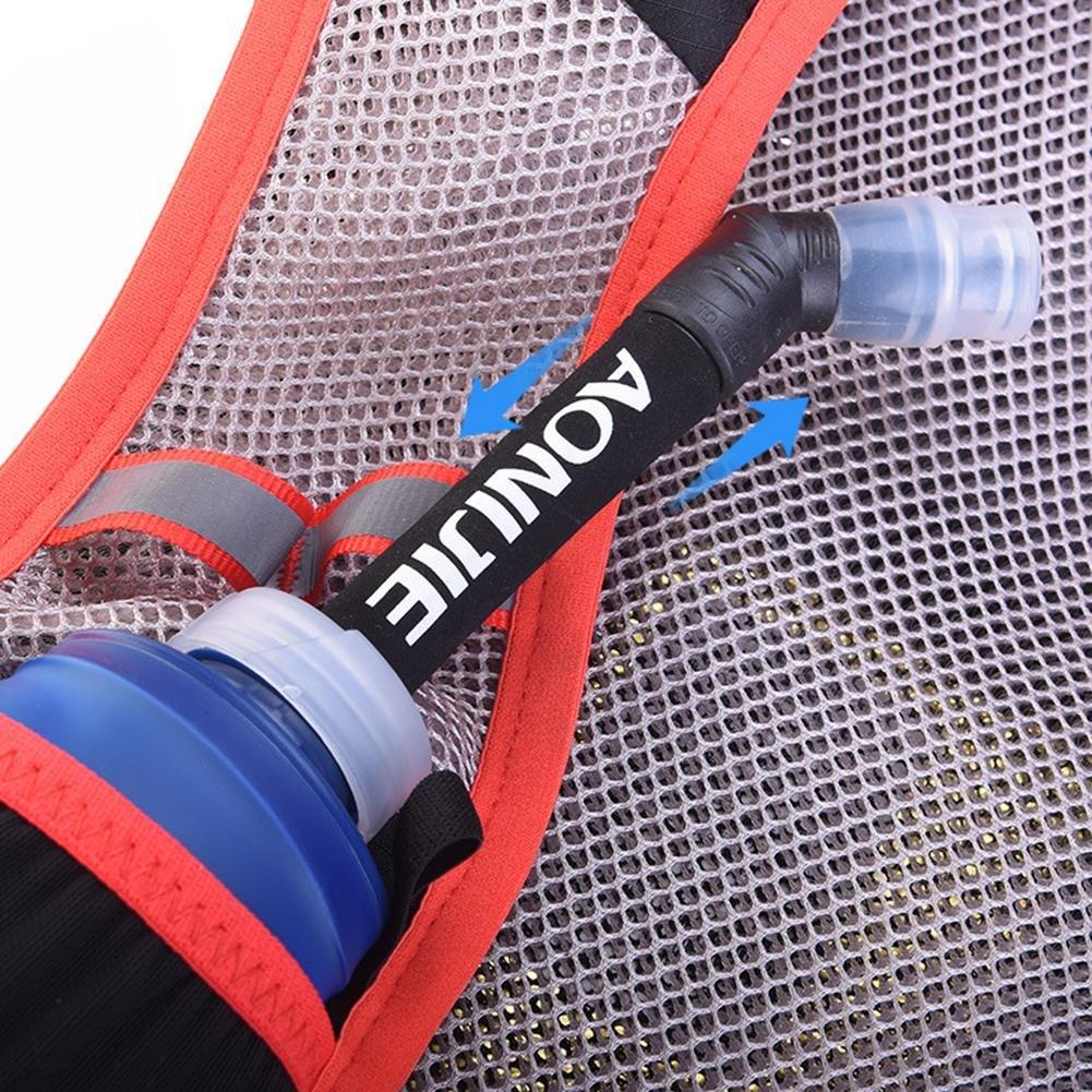 2L Water Bag zu halten A//B//C Prom-near 5L Cross Road Running Rucksack Marathon Rucksack Sport Weste Reiten Rucksack