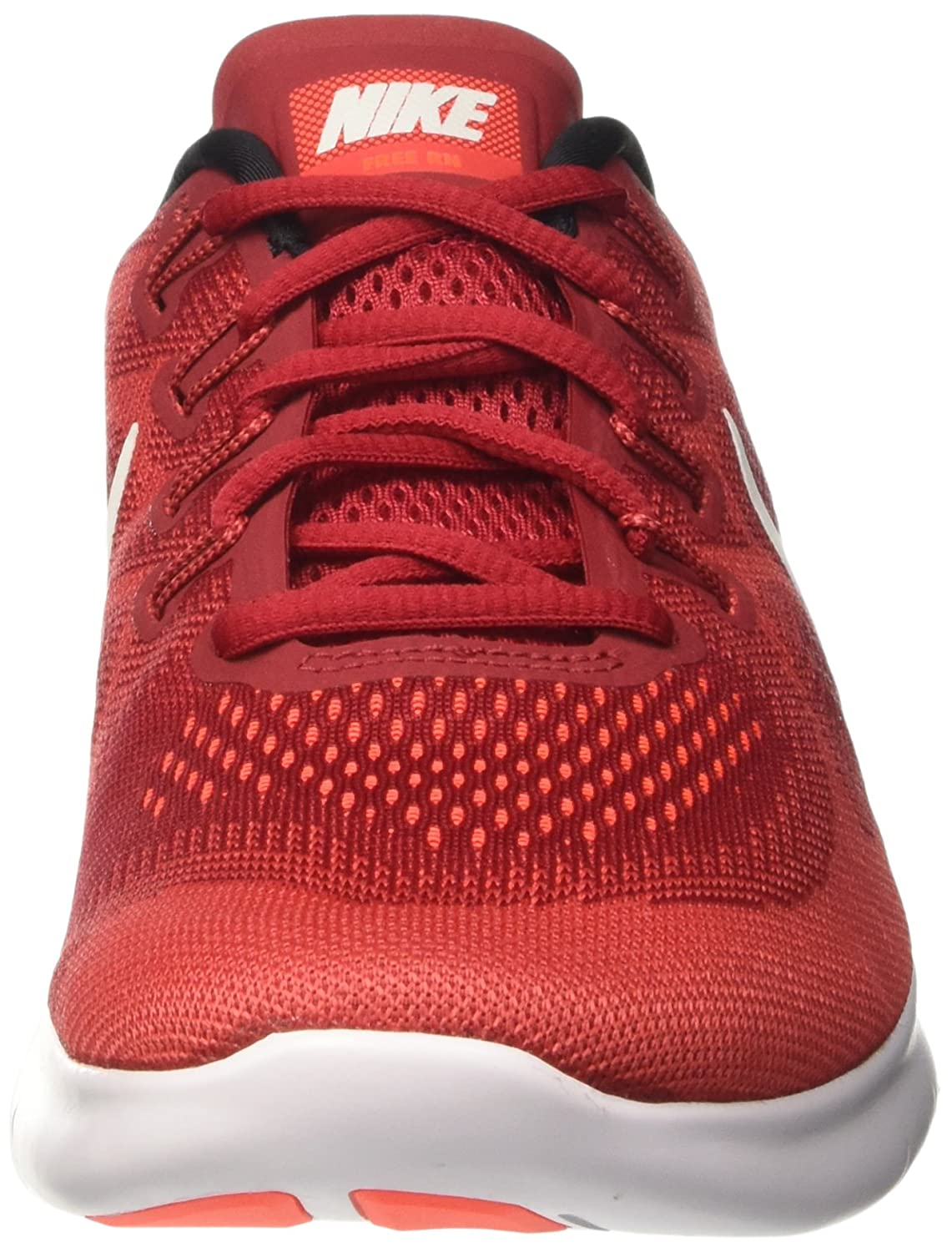NIKE Men's Free RN Running Shoe Red/Off B01JZQSSLW 11.5 D(M) US|Game Red/Off Shoe White//Track Red dc4ac0