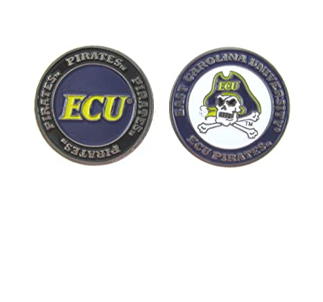 8906fca5d6c Image Unavailable. Image not available for. Color  East Carolina Pirates  Double-Sided ECU Golf Ball Marker
