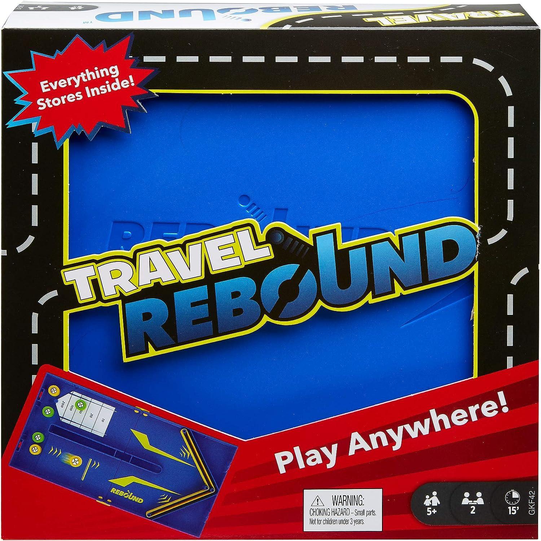 Mattel Games Rebound juego de mesa versión viaje (Mattel GKF42): Amazon.es: Juguetes y juegos