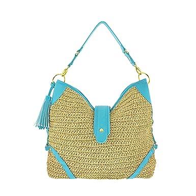 Amazon.com: Moda Bohemia para bolsa de playa bolso de viaje ...