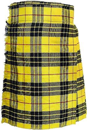 Macleod of Lewis - Falda de tartán escocesa para hombre de 5 ...