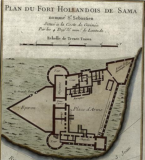 Amazon.com: Fort San Sebastian Shama Ghana West Africa Dutch ...
