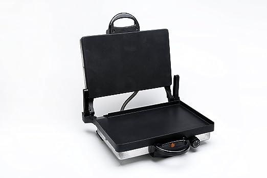 Shov Grill Multi plancha eléctrica Tandoor Tostadora con o sin Cacerola Tava & Granito o teflón a elegir: Amazon.es: Hogar