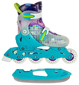 9e8a6cfccdb Powerslide Kinder Frozen Magic 2 in 1 Skate Schlittschuhe Multicolor 27-30