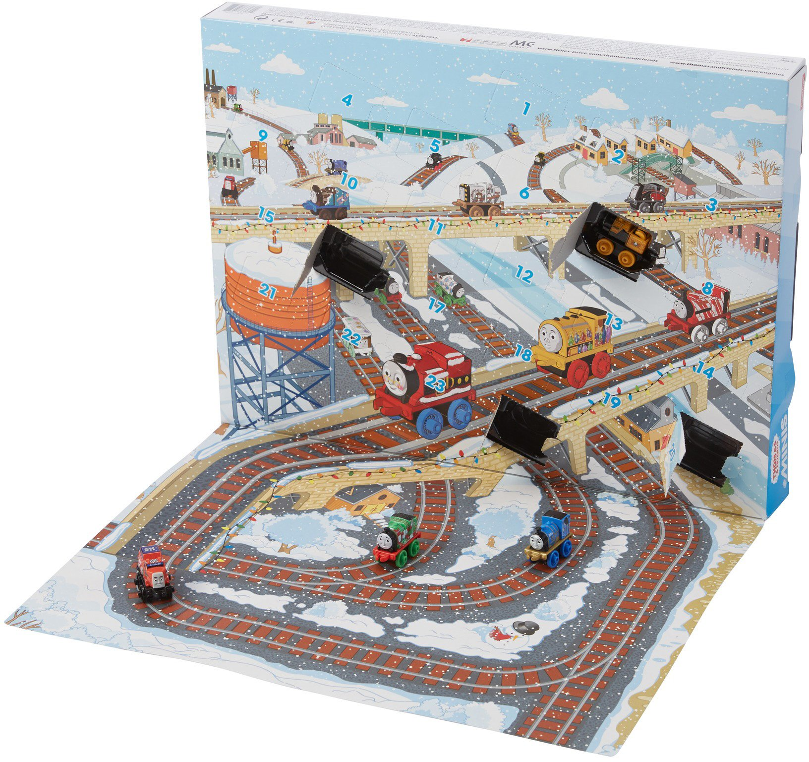 Thomas & Friends Fisher-Price MINIS, Advent Calendar by Thomas & Friends (Image #6)