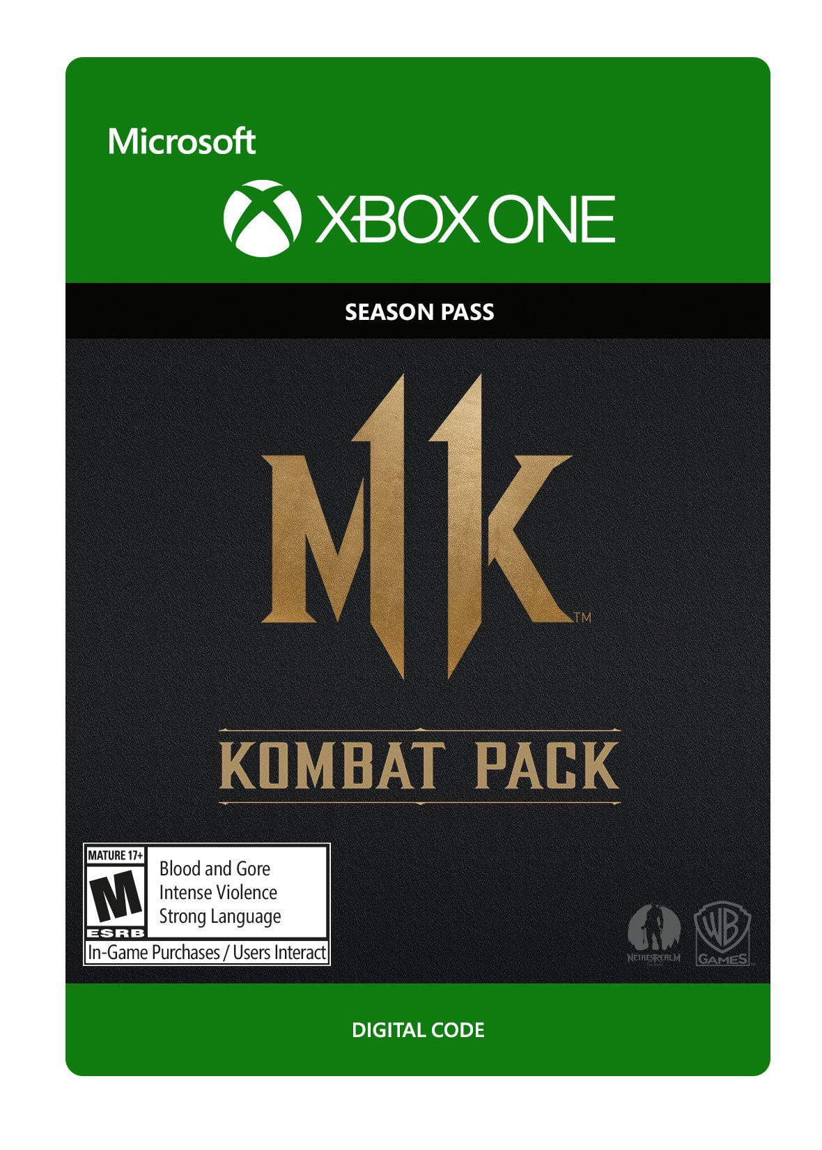 Mortal Kombat 11: Kombat Pack - Xbox One [Digital Code]