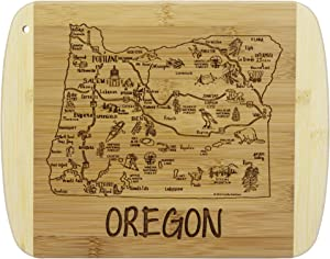 Totally Bamboo A Slice of Life Oregon Bamboo Serving and Cutting Board
