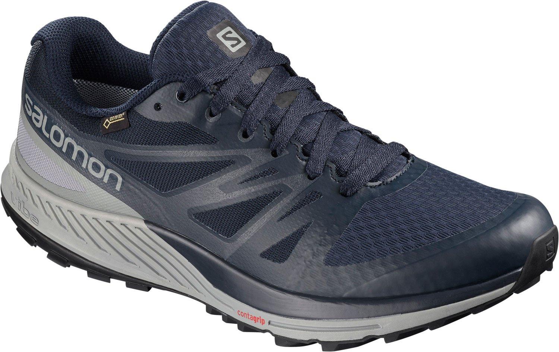 Salomon Sense Escape GTX Zapatillas de Trail Running 45 1/3 EU|Azul Gris