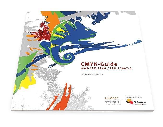 CMYK-Guide/Euroskala nach ISO 2846/ISO 12647-2 (1): Amazon.de: Baumarkt