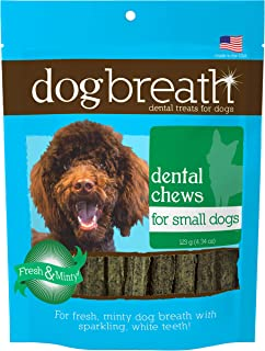 product image for Herbsmith Dog Breath - Dental Chews for Small Dogs – Small Dog Breath Treats - Fresh Breath Dog Treats - Dog Dental Hygiene