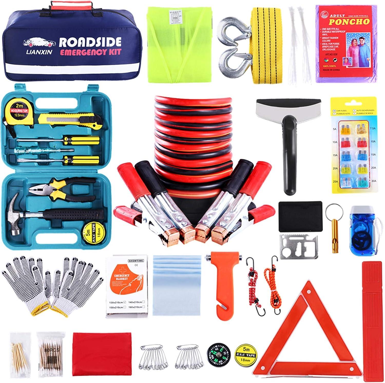 LIANXIN Roadside Assistance Emergency Survival Kit