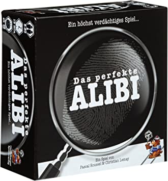 Deutsch Version 2020 Asmodee Le Scorpion Masque LSMD0011 Das perfekte Alibi Party-Spiel