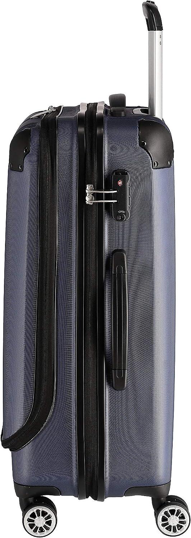"""Flexibel travelite Leicht Bagage Cabine Sicher: /""""City/""""-hartschalenkoffer F/ür Urlaub Und Business 68 Centimeters Auch Mit Vortasche"""