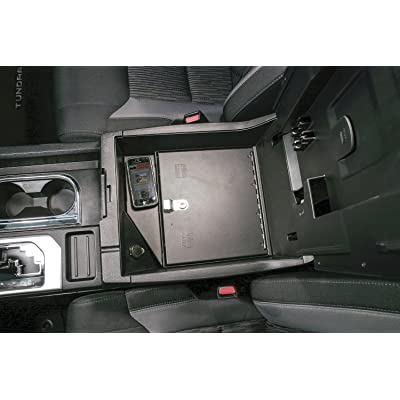 Console Insert for 2014-Current Toyota Tundra W/Flow-Thru Console: Automotive [5Bkhe0413154]