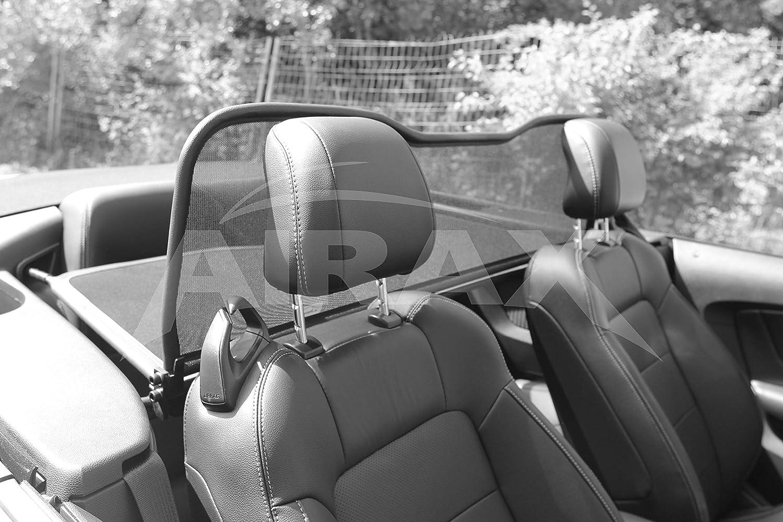 Airax Windschott f/ür Mustang VI Convertible Cabrio Windabweiser Windscherm Windstop Wind deflector d/éflecteur de vent