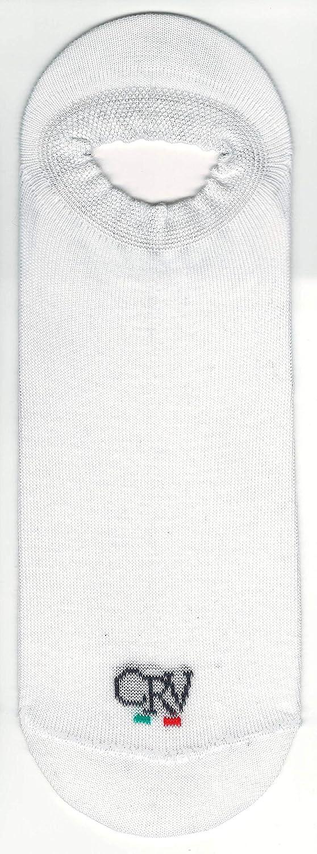 Produzione Artigianale Made In Italy 6//10 Paia Promozione Calzini neri blu e bianco CRAVANA CRV Fantasmini Uomo Donna In Cotone Sneaker Calza Invisibile Bassa Unisex